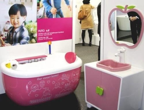 Decoracion Baño Ninas:Novedosa decoración 10 para baños infantiles