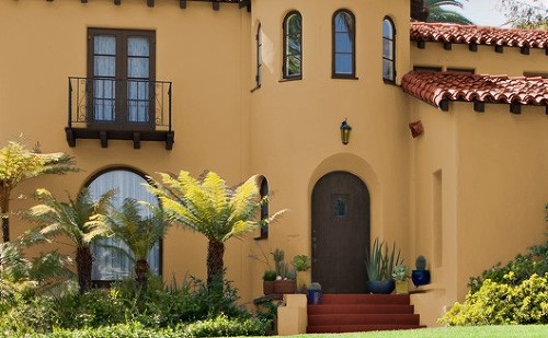 Pintura exterior para casas submited images - Consejos para pintar una casa ...