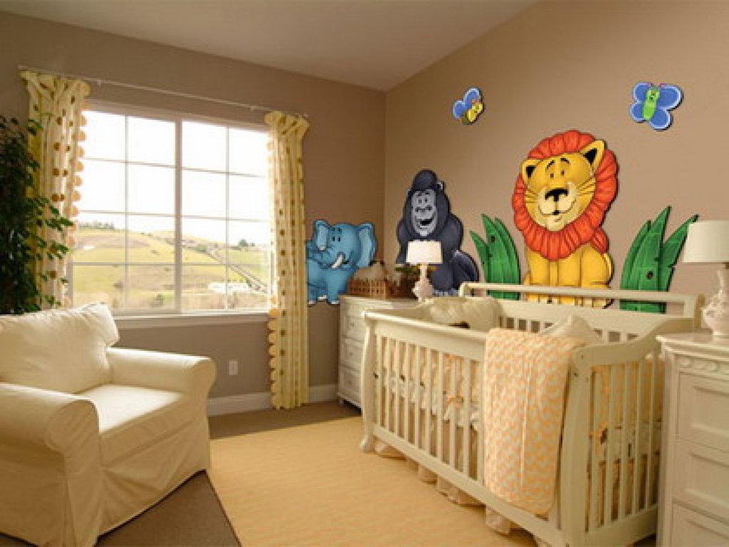 Tips para decorar la habitaci n de un beb - Decorar paredes habitacion ...