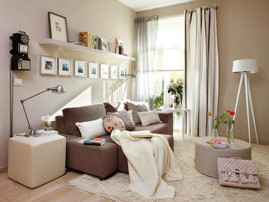 Tips para decorar un sal n peque o - Consejos para decorar un salon ...