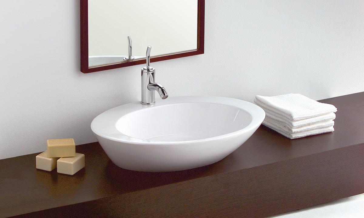 Los lavabos sobre encimera estilo y modernidad for Fotos lavabos