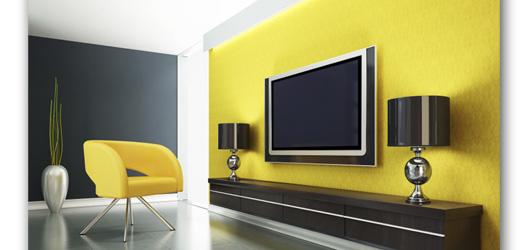 Televisores en la pared como colocar - Como colocar ladrillos en una pared ...