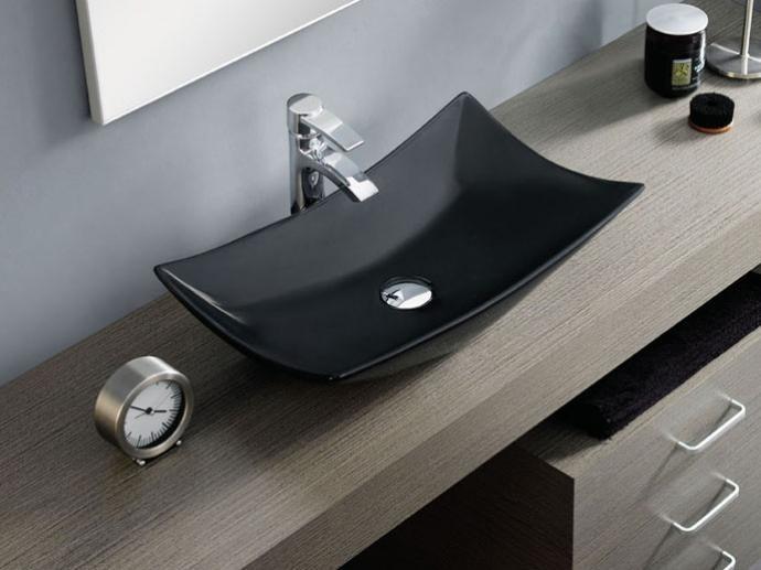 Los lavabos sobre encimera estilo y modernidad - Lavamanos sobre encimera ...