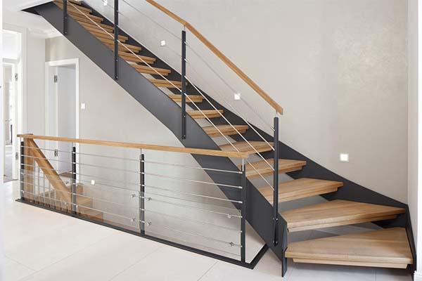 impresionantes escaleras de interior. Black Bedroom Furniture Sets. Home Design Ideas